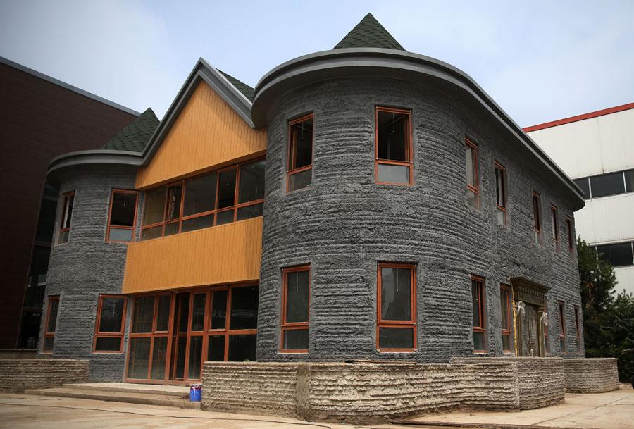 Finaliza la construcci n de la primera casa con impresi n Impresion 3d construccion